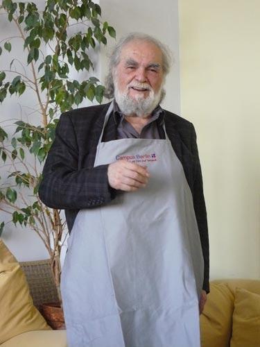 Kostas Papanastasiou  begrüßt Campus Berufsbildung e.V.
