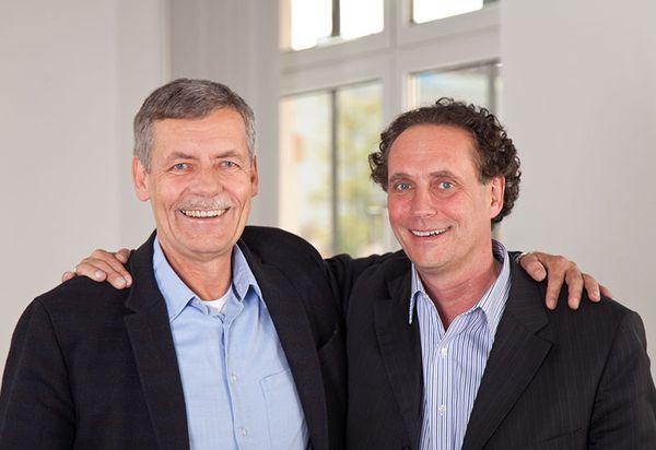 Rudi Kirchner und Detlev Hoffmeister Campus Berlin